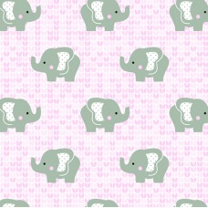 FELT SANTA FE COLLECTION DEBORA RADTKE-FELTRICO ELEPHANT PINK